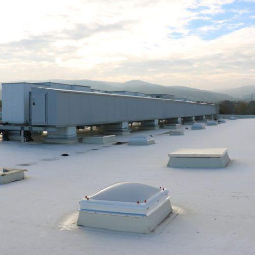 Ventilation system for large European meat processing company